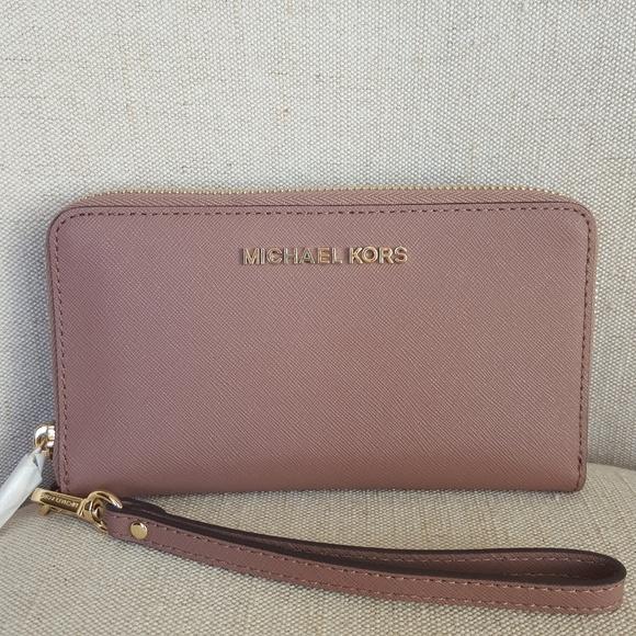 ffe18d6dfab8 MICHAEL Michael Kors Bags | Nwt Michael Kors Lg Phone Case Wallet ...